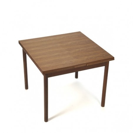 Teak dining table square