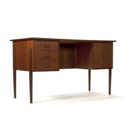 Danish desk in teak