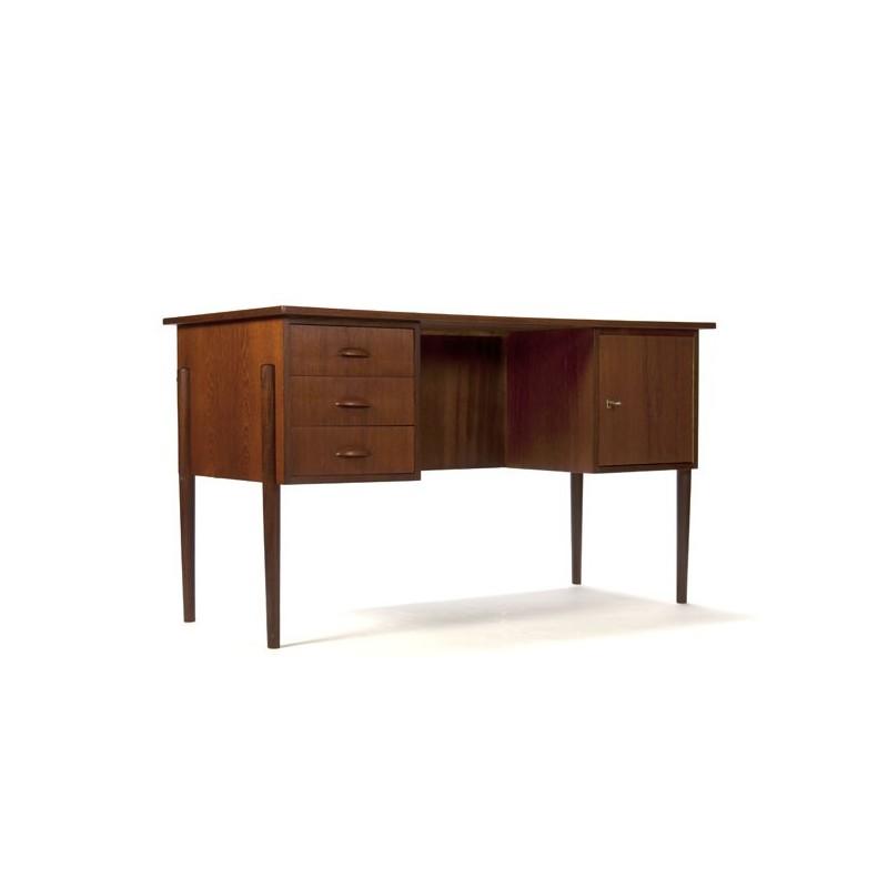 Danish desk in teak