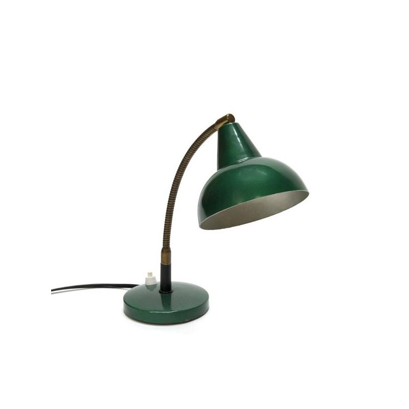 Groen tafellampje