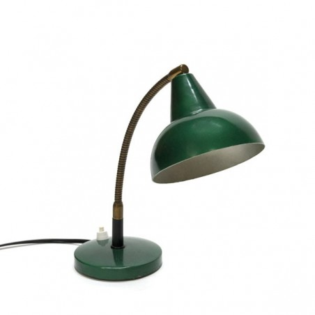 Green table lamp