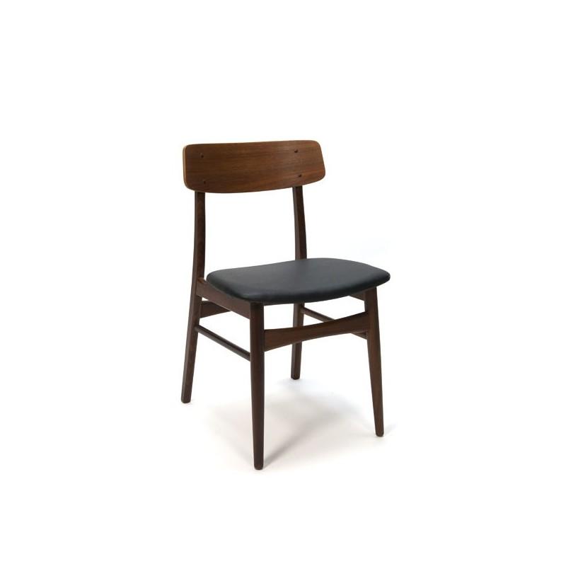 Vintage teakhouten stoel