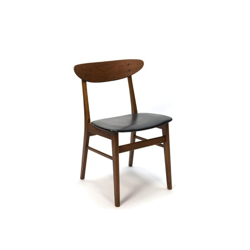 Teakhouten Farstrup stoel