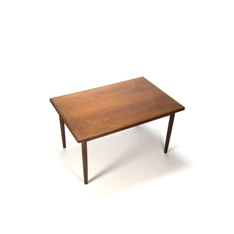 Danish vintage design dinner table