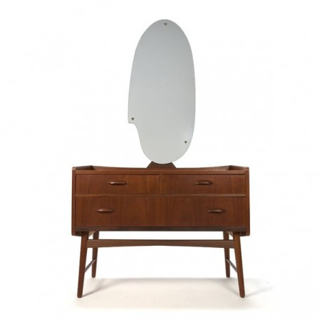 Danish design dressing table teak vintage