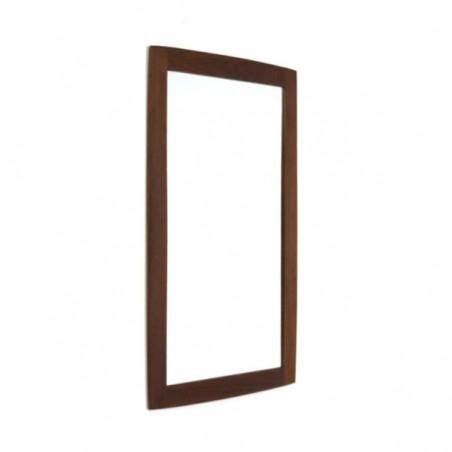 Teak mirror Danish design
