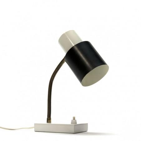 Hala tafellamp zwart/ wit