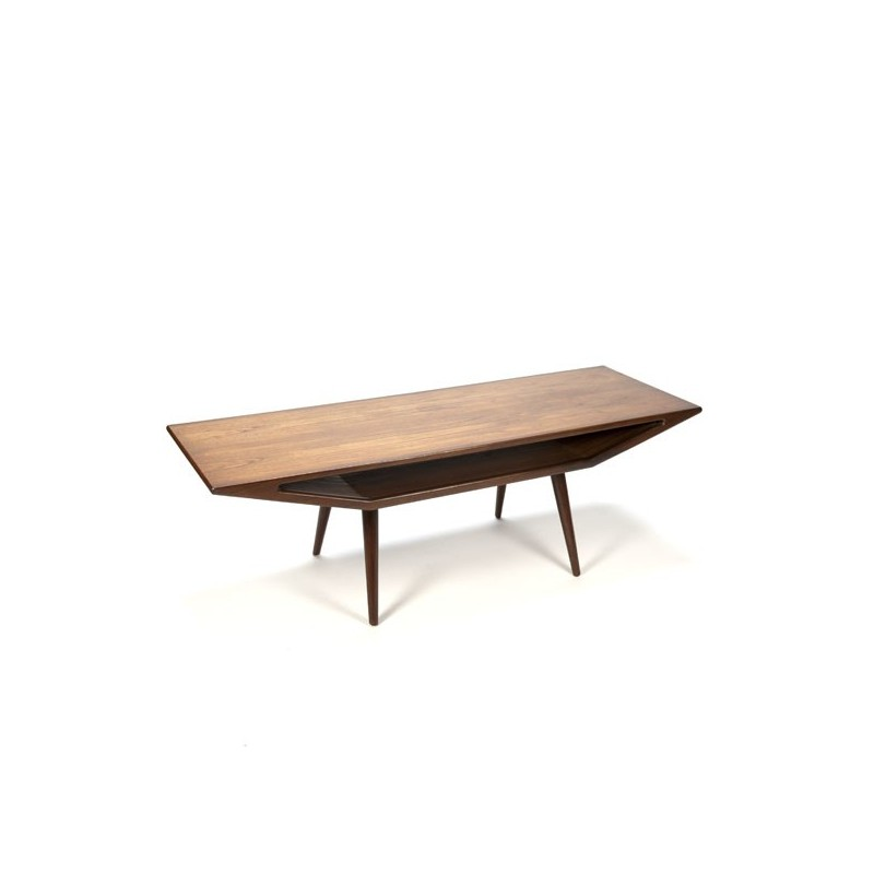 Design coffee table teak