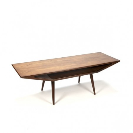 Design coffee table teak