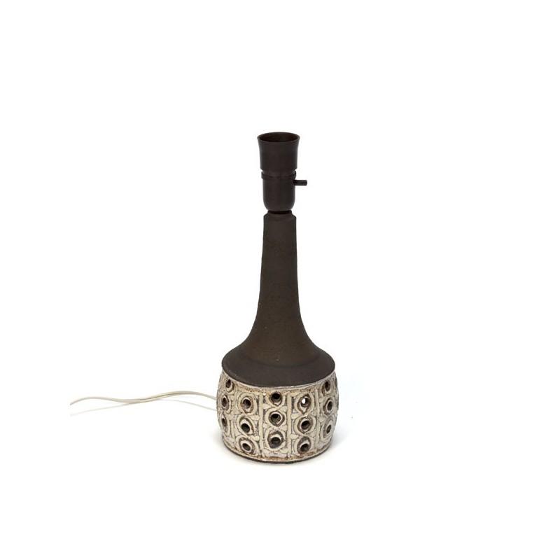 Deense lampenvoet van aardewerk