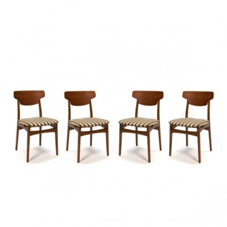 Teak chairs set of 4
