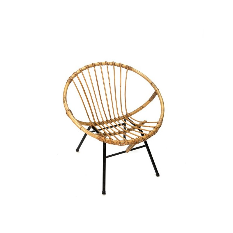 Bamboo easy chair 1960's