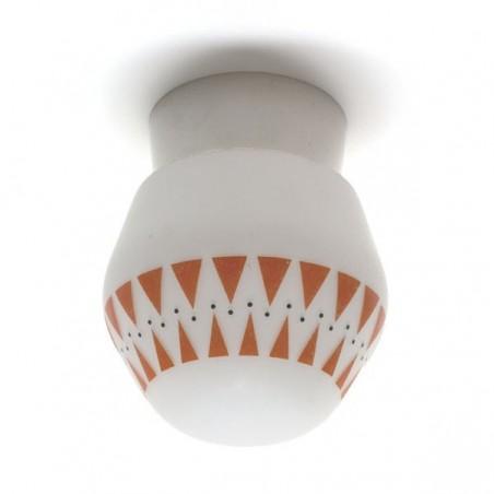Plafondlamp jaren 50 nr.2