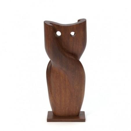 Owl in teak