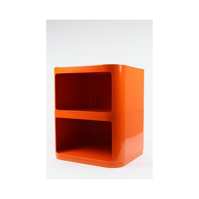 Anna Castelli Ferrieri voor Kartell oranje