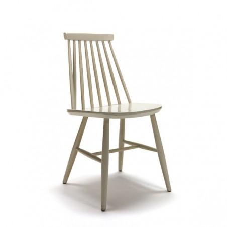 Wooden chair white