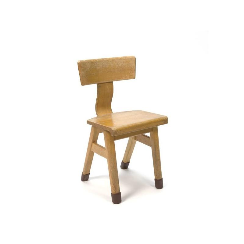 Wooden chair for children