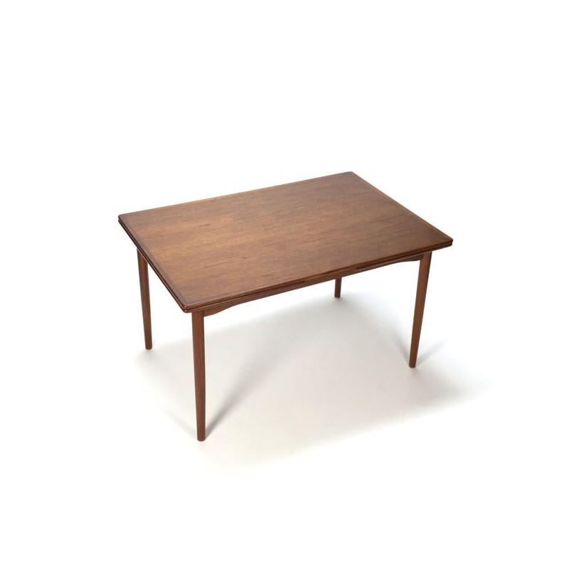 Danish design dinner table in teak