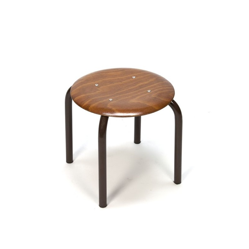 Low stool industrial style