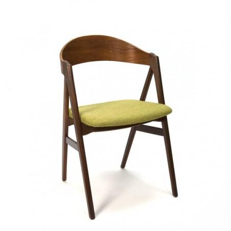 Teak desk chair