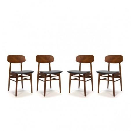 Danish design chairs set of 4