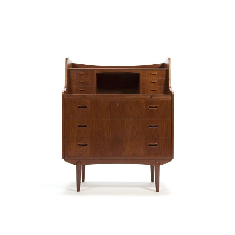 Danish secretary in teak