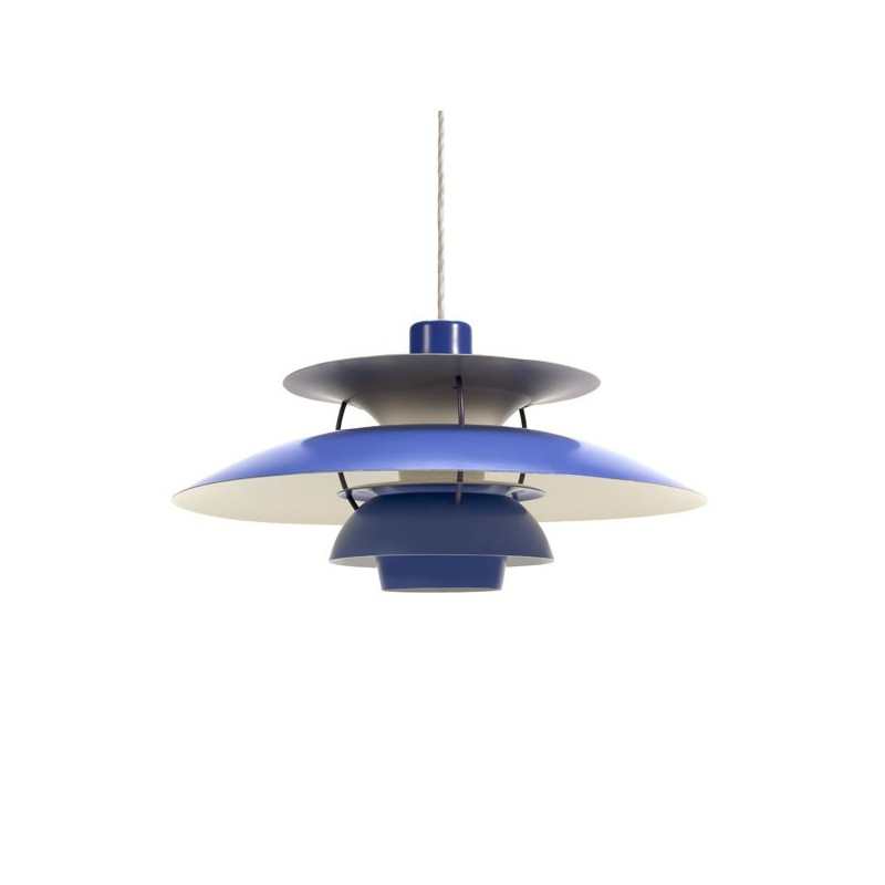 PH 5 by Poul Henningsen blue