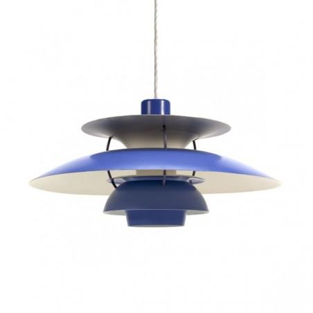 PH 5 by Poul Henningsen blue