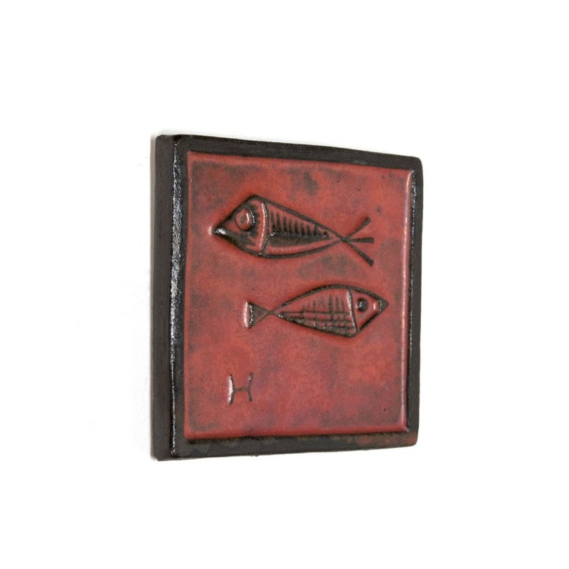 Small ceramic wall tile