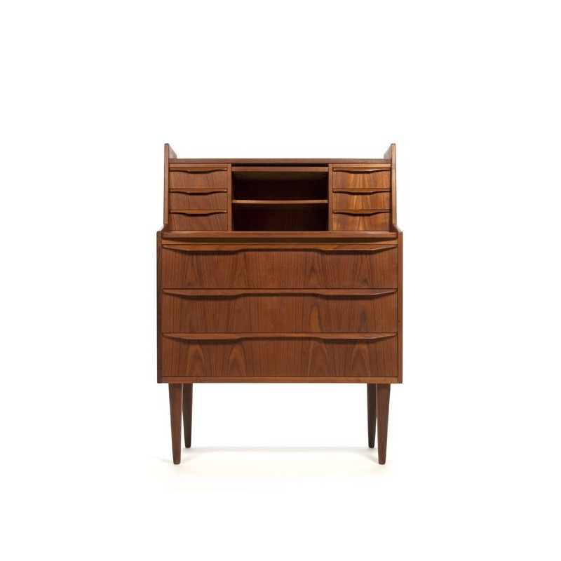 Teak secretary Danish design