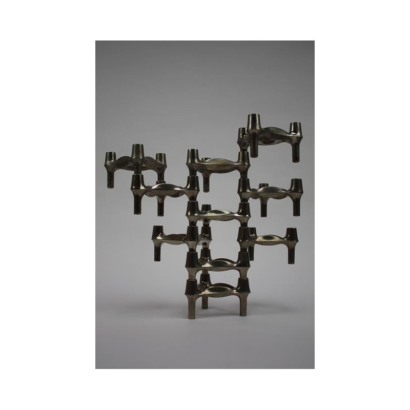 Stackable candleholders by Nagel type 2