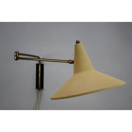 Wall lamp from the 50's yellow