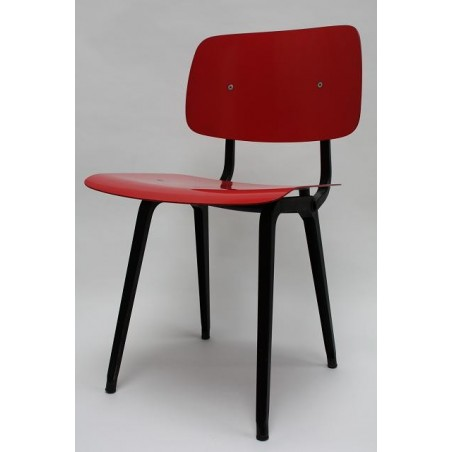 Friso Kramer Revolt stoel rood/zwart 4