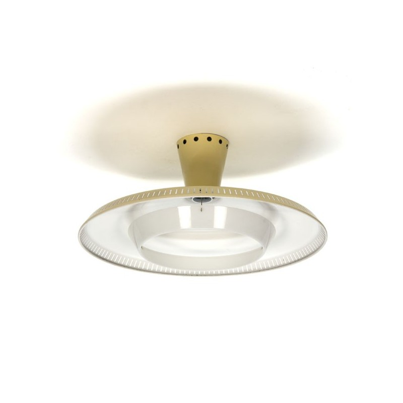 Philips plafondlamp L. Kalff geel