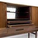 Palissanderhouten dressoir hoog model