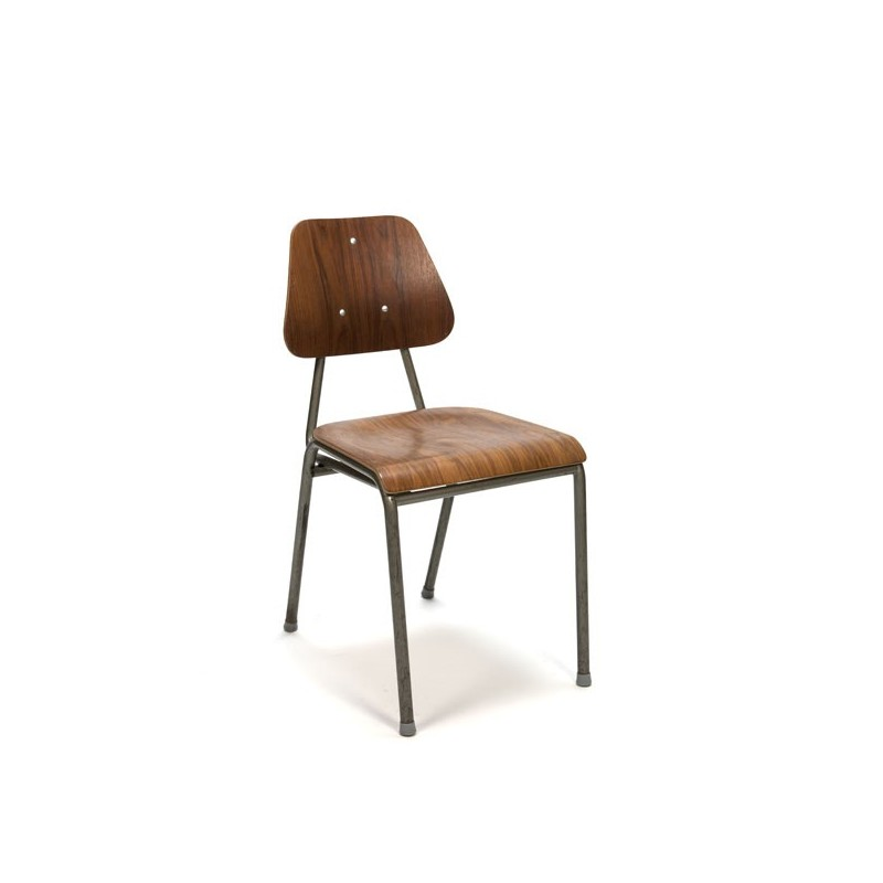 Danish industrial school chair