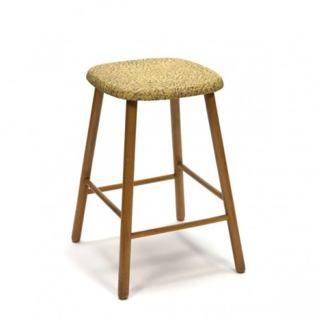 Wooden stool from the fifties