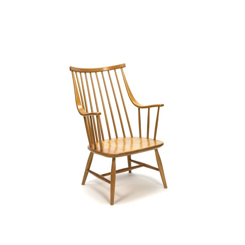 Pastoe Wooden bars lounge chair