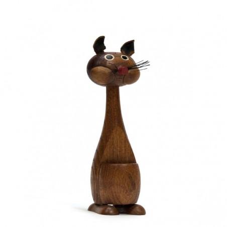 Small Scandinavian wooden figurine 'Squirrel'