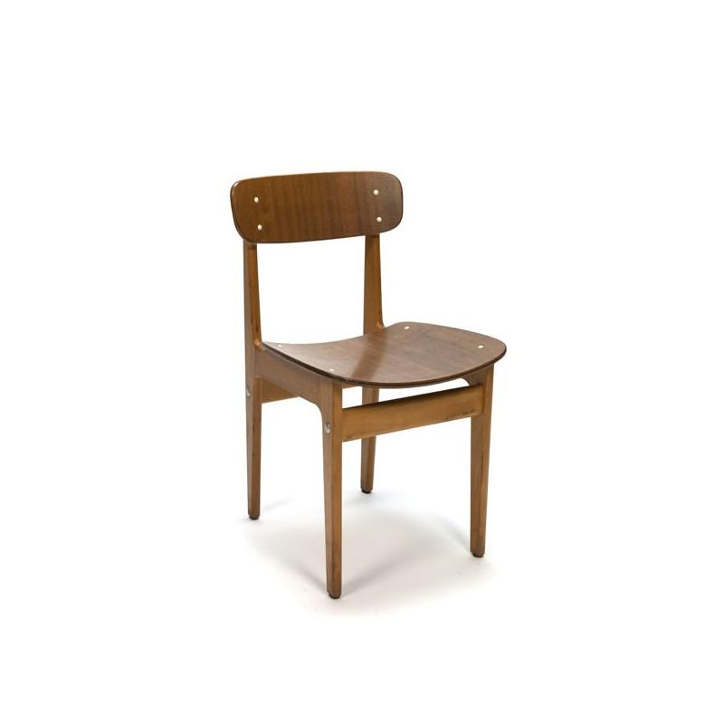 Houten stoel uit Denemarken