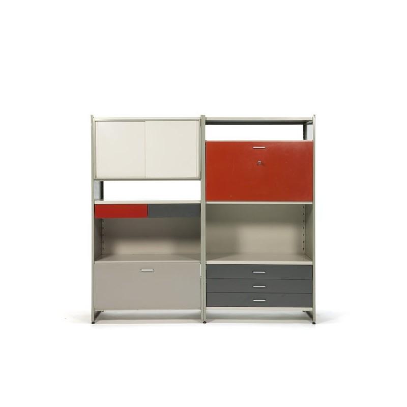 Vintage Gispen storage system 5600