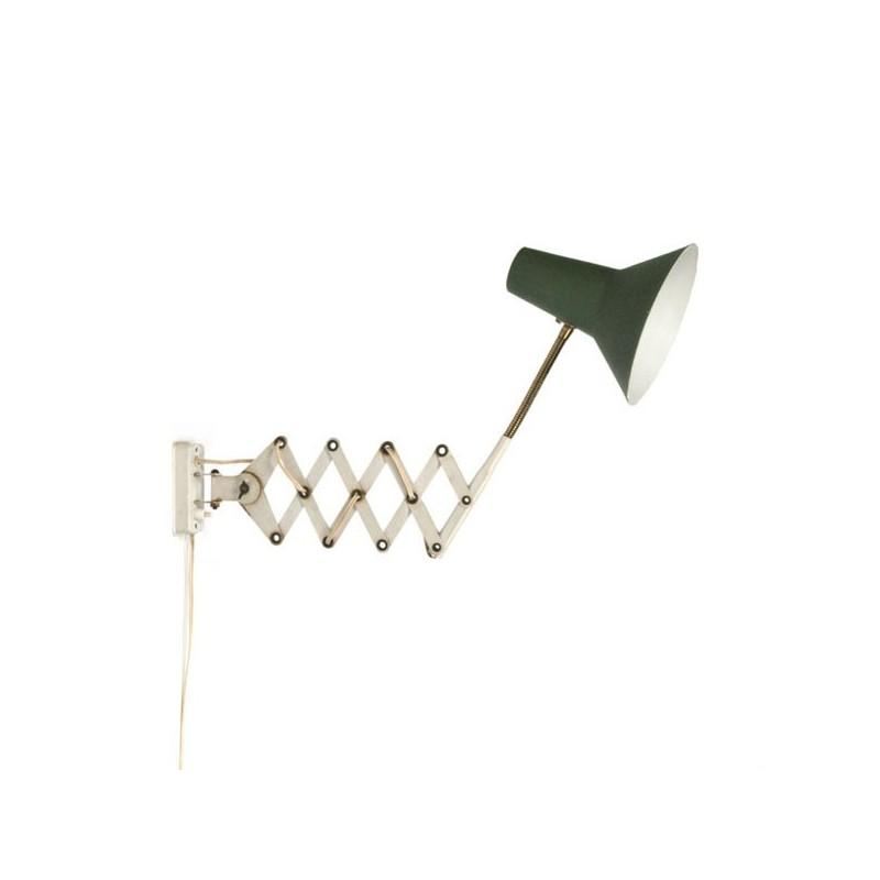 Accordion lamp green