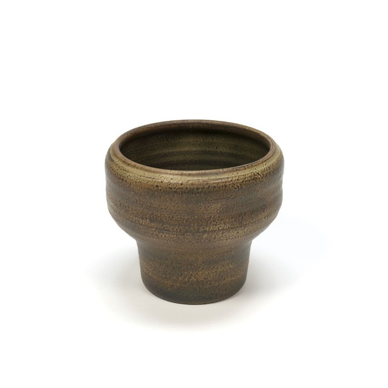 Mobach vase/ flowerpot brown hue