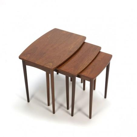 Danish nest tables set of 3