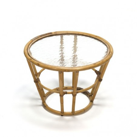 Side table by Rohe Rotan
