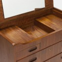 Danish dresser with small mirror