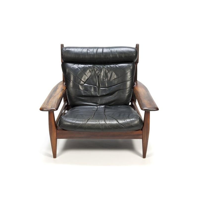 Pleasant Brazilian Design Lounge Chair Retro Studio Ibusinesslaw Wood Chair Design Ideas Ibusinesslaworg