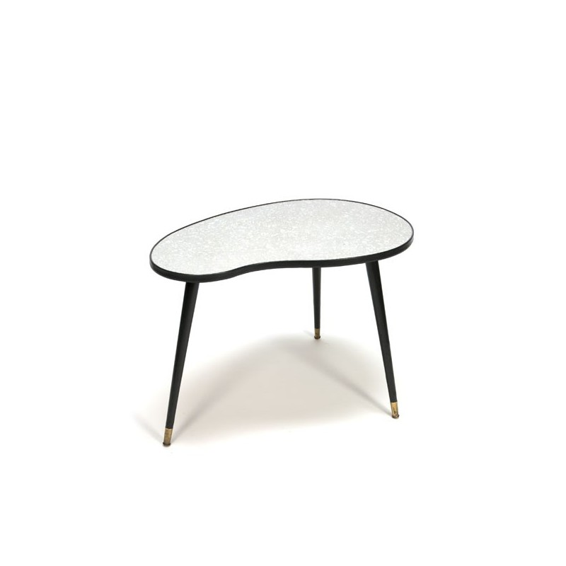Kidney shaped table from the fifties