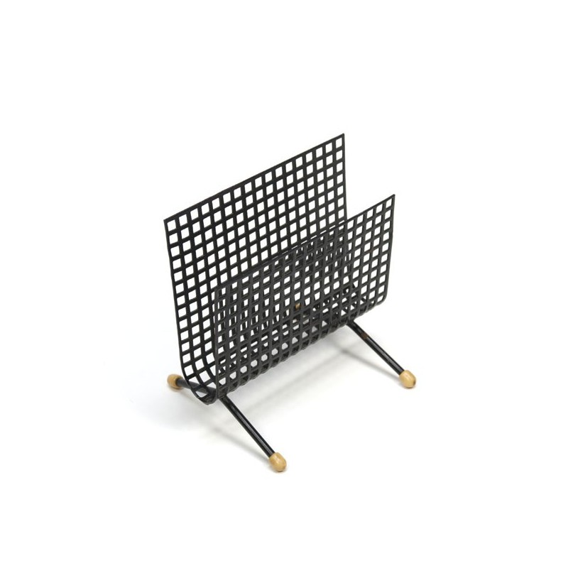 Letter holder perforated metal no.1