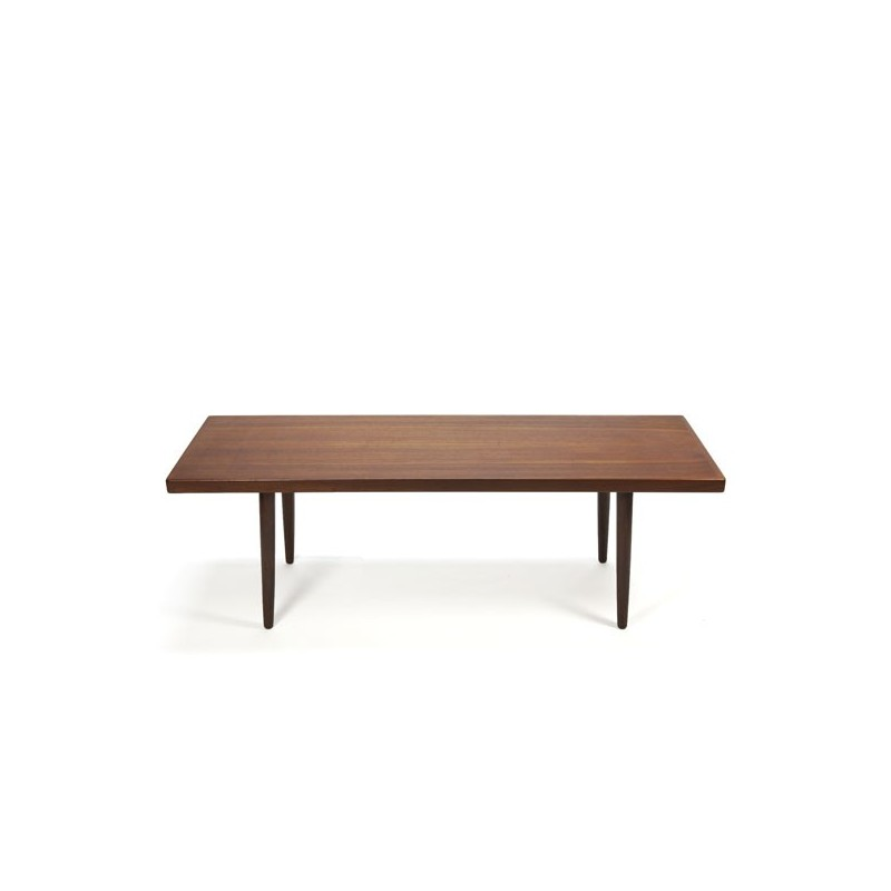 Danish design coffee table in teak